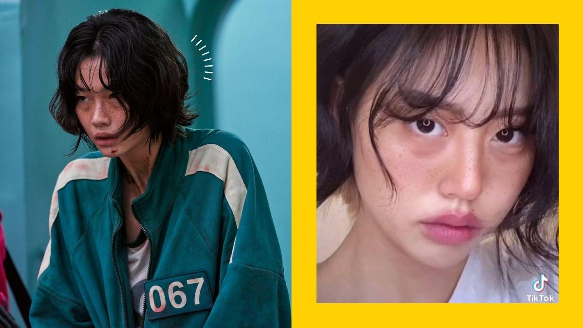 TikToker's Jung Ho Yeon Squid Game transformation