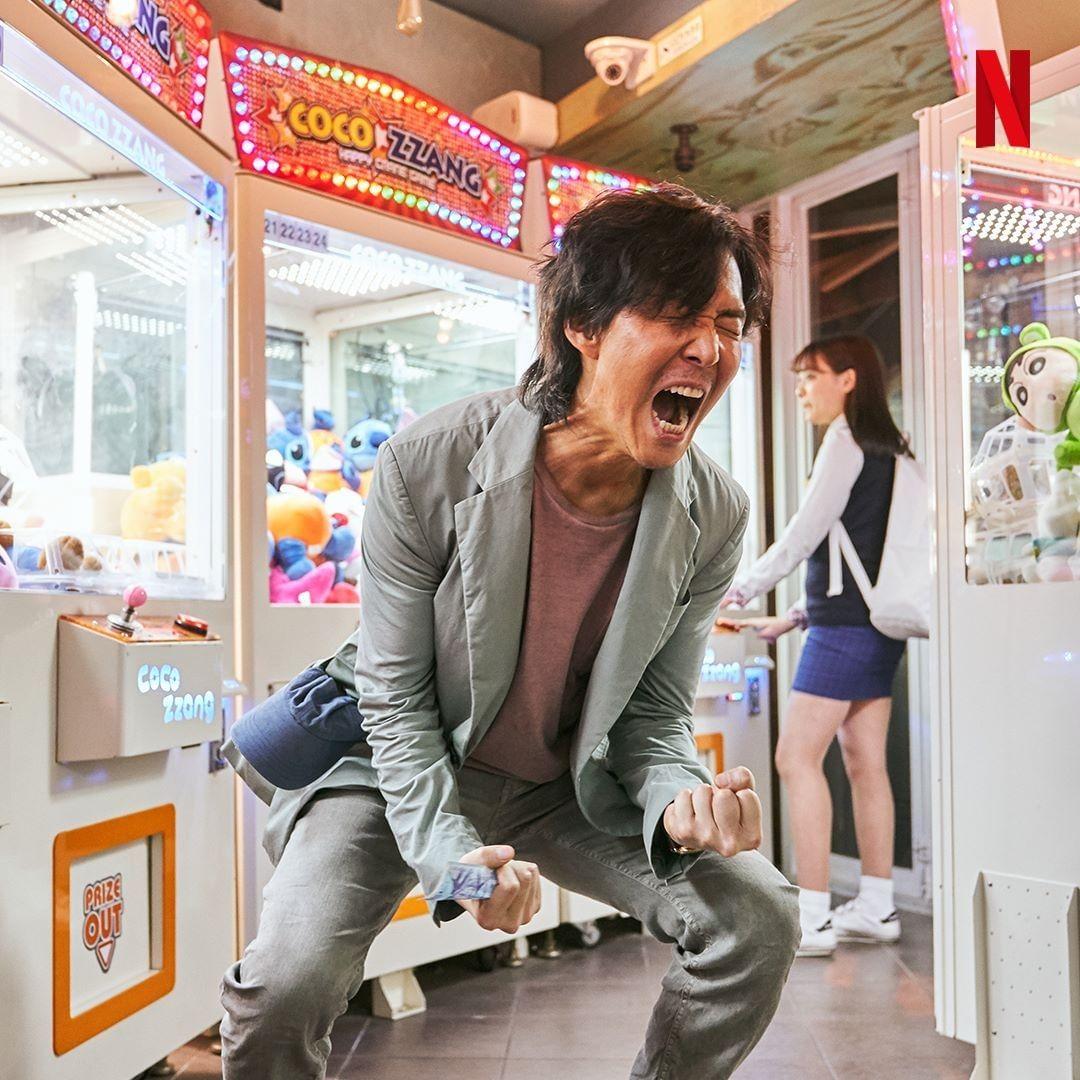 Lee Jung Jae in Squid Game