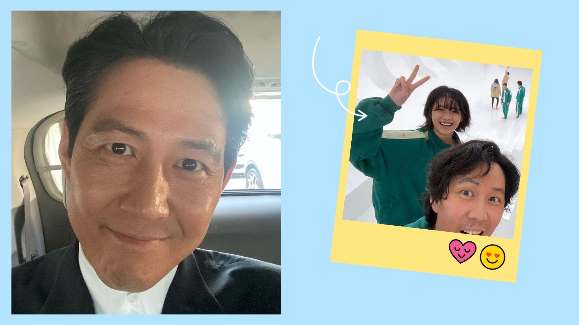 Lee Jung Jae's Instagram account
