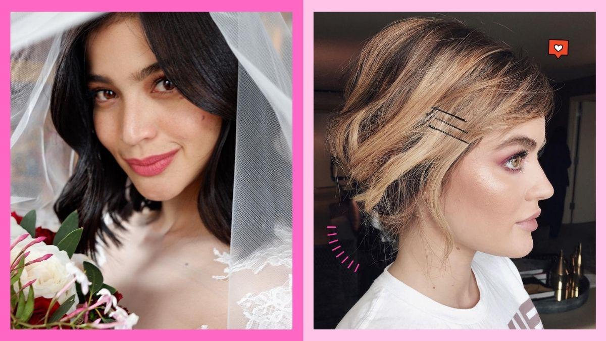 Wedding hairstyles for short hair