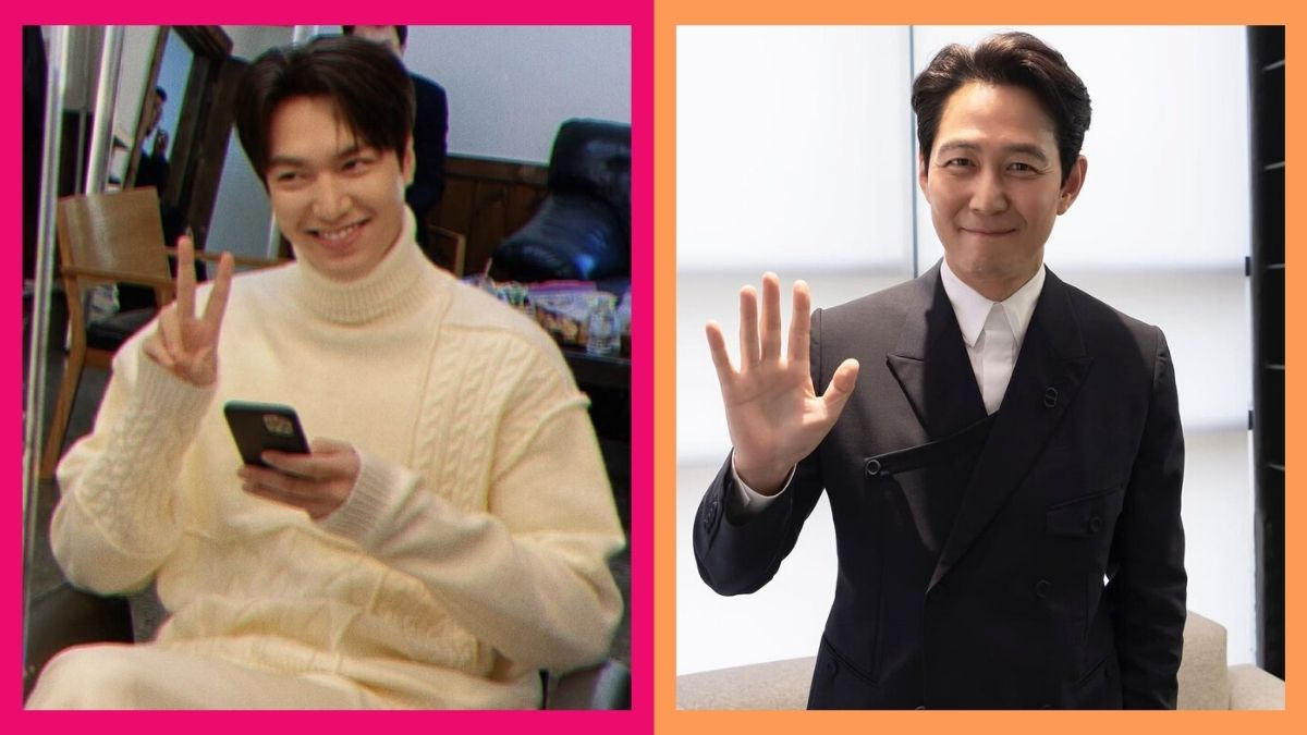 Lee Min Ho is the cutest fanboy of Lee Jung Jae