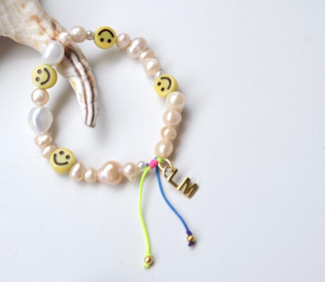 LM Pearl Emoji Bracelet