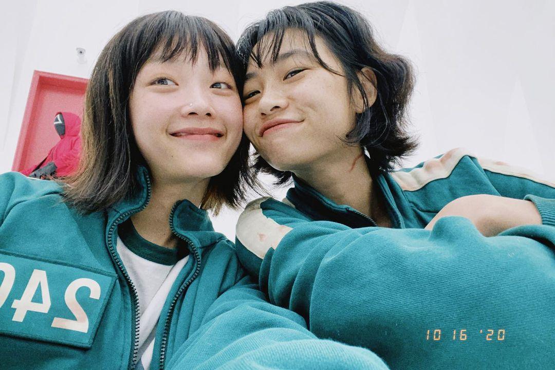 Jung Ho Yeon and Lee Yoo Mi's friendship