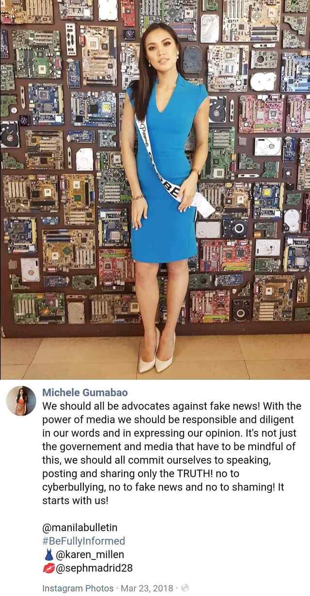 Netizens call out Michele Gumabao for joining Mocha Uson's party-list after saying she was an advocate against fake news