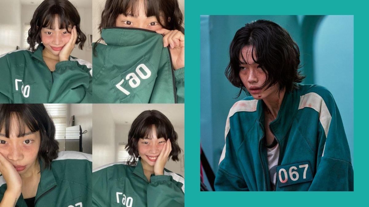 Rhea Bue Kang Sae Byeok look