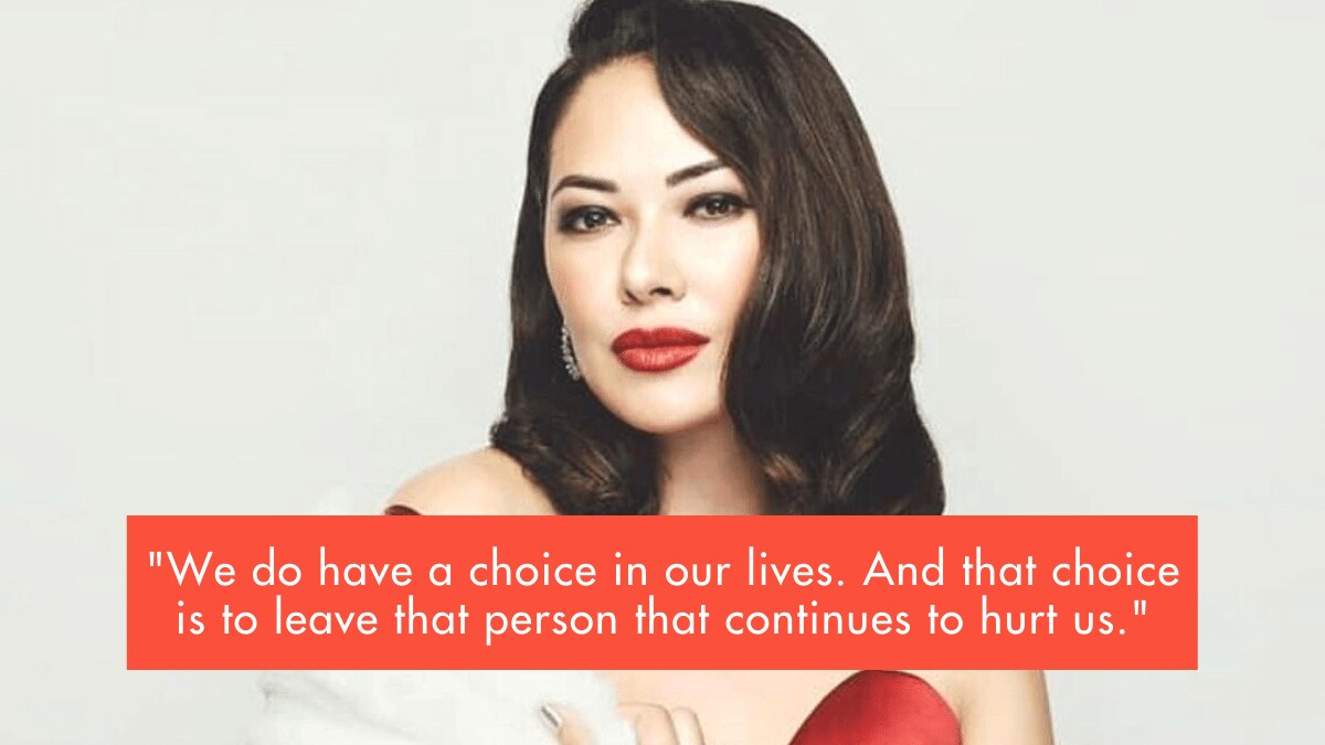 Ruffa Gutierrez Has An Emotional Message For Victims Of Domestic Violence