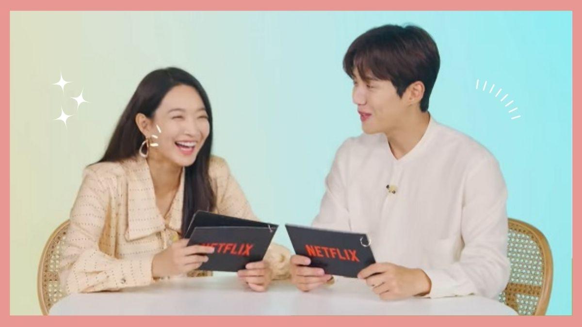 Shin Min Ah and Kim Seon Ho having a compliment battle