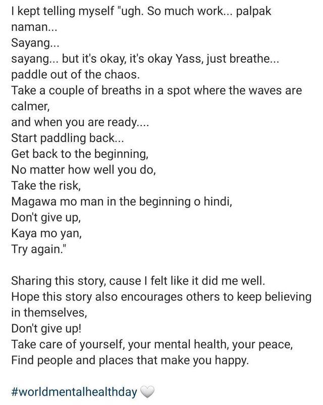 yassi pressman posts about her mental health