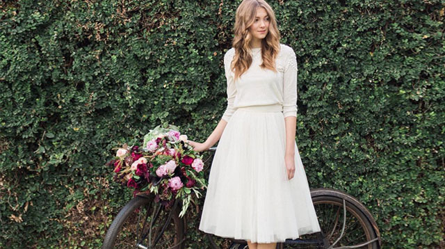 These bridal dresses are perfect for a civil wedding for Simple dress for civil wedding