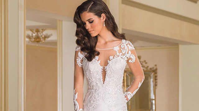 10 Long Sleeved Wedding Dresses To Try If You Don T Want Bare Your Arms