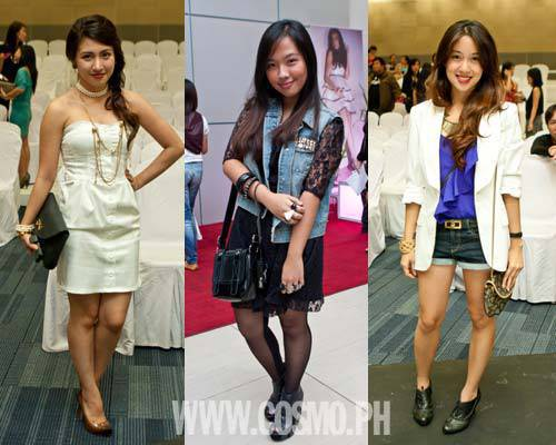 Spotted 16 Trendy Cosmo Chicks At Philippine Fashion Week Day 1