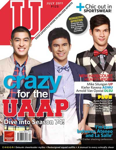 U Mag Cover