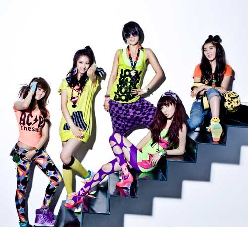 Korean Fashion Tips From The Gals Of 4 Minute