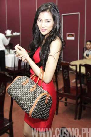 Alex Gonzaga Opens Up Her Goyard Bag Cosmo Ph