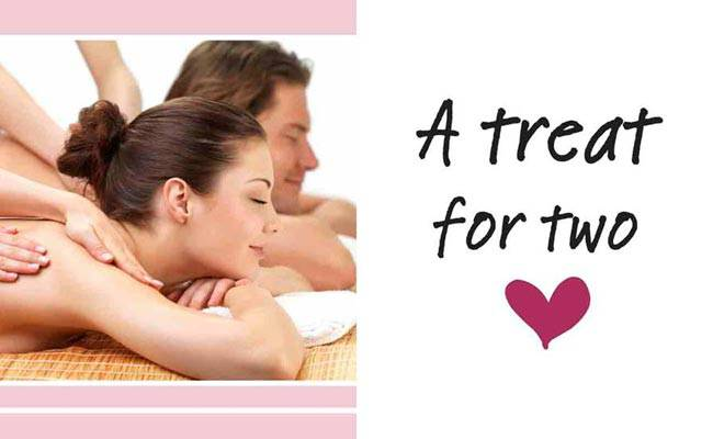 V day date idea get a couples 39 pampering package for A better day salon