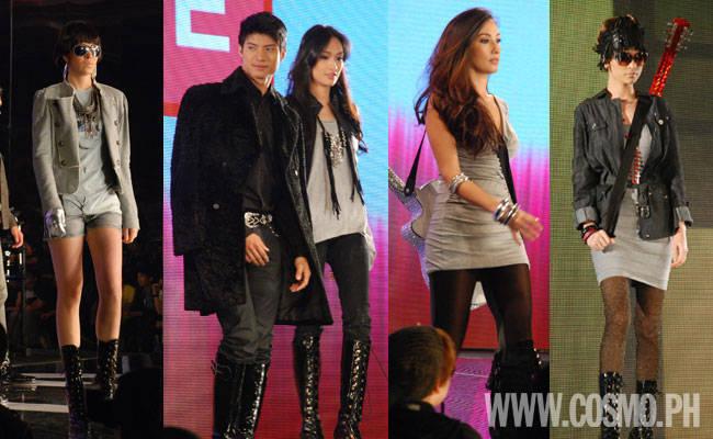 Campus Fashion Embellished Basics For Rock Glam Style