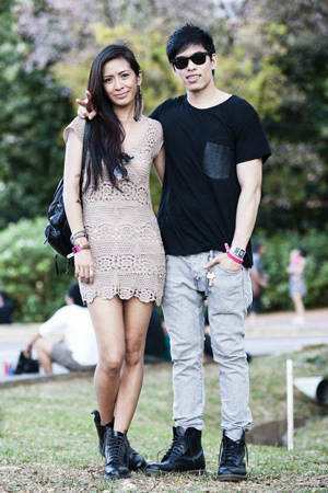 Valerie delos Santos and Robby Mananquil