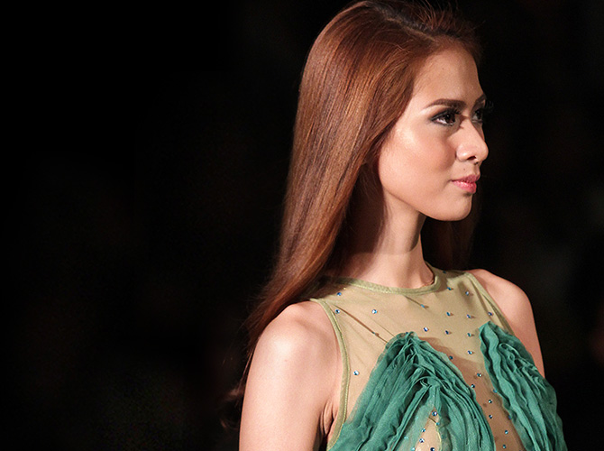 best hairstyles philippine fashion week s s 2014 cosmo ph
