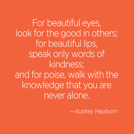 Audrey Hepburn Beauty Quote | Cosmo.ph