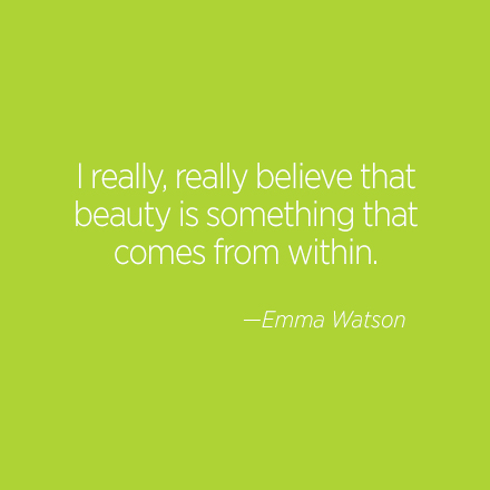 Emma Watson Beauty Quote | Cosmo.ph
