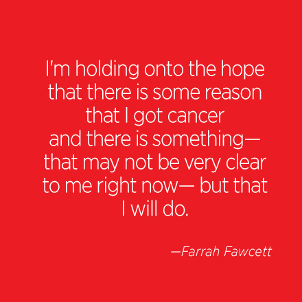 Farrah Fawcett Beauty Quote | Cosmo.ph