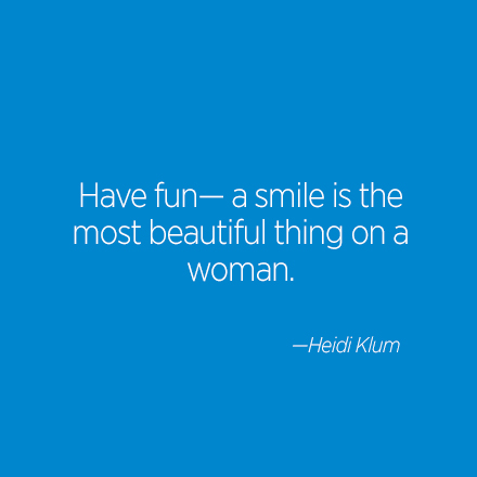 Heidi Klum Beauty Quote | Cosmo.ph