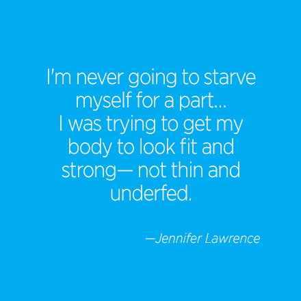 Jennifer Lawrence Beauty Quote | Cosmo.ph