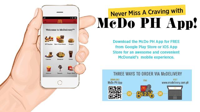 McDo PH App | Cosmo.ph