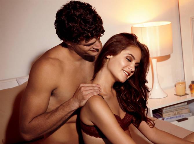 Female sensual massage