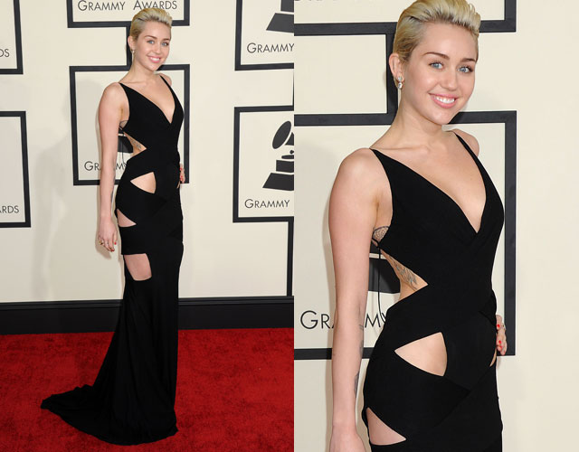 Miley Cyrus Grammy Dress