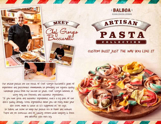 Make your own pasta at Balboa