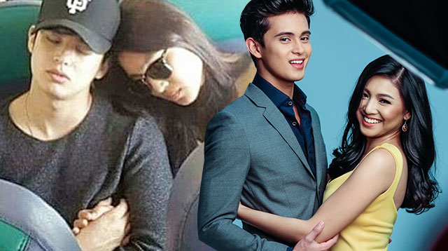 james and nadine reveal why they were holding hands in the