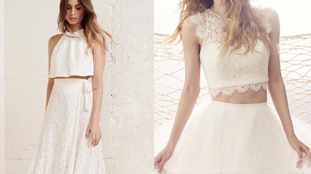Getting Married? Try These Two-Piece Wedding Dresses! | Cosmo.ph