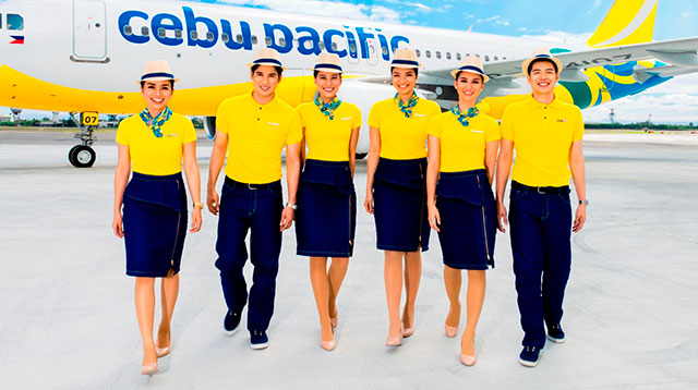 Cebu pacific flight attendants get new designer uniforms for Cabin crew recruitment agency philippines