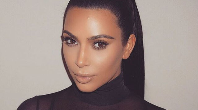 Kim Kardashian Lashes Out On Twitter Over Nude Selfie -9709