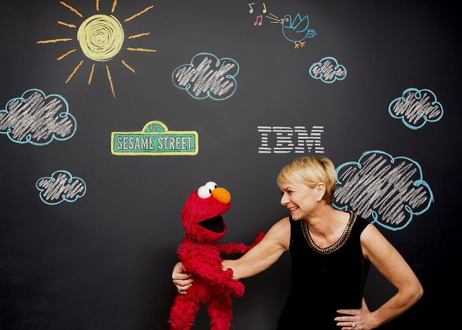 IBM and Sesame Street