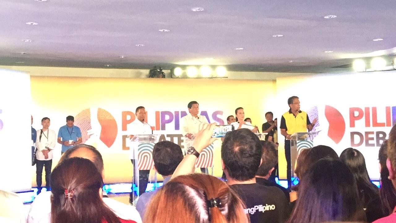 2nd PH presidential debate