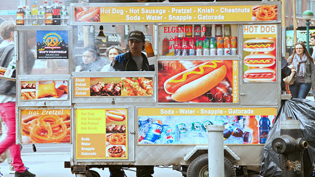 Hotdog foodcart