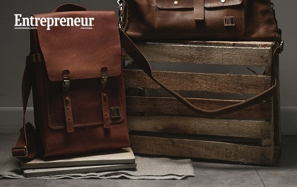 Bags by Rubbertree: A couple crafts all their leather goods by hand