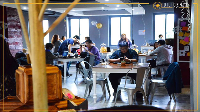 Home sweet hustle: Diligence Cafe gives those hard-at-work all the time they need