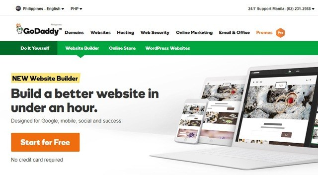 Need a Website for Your Business? GoDaddy's New Website Builder Can Help