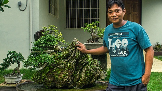 Started as a Hobby, Bonsai Growing Grosses This Nueva Ecija Farmer 10 Times His Costs