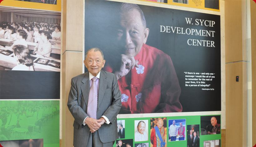 Washington Z. SyCip, Philippine Business Icon, Passes Away at 96