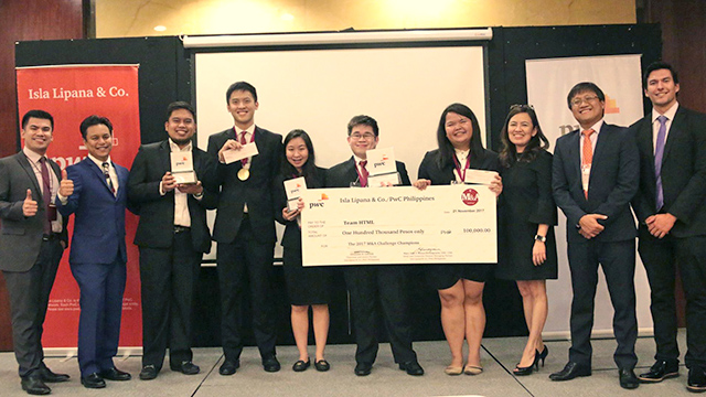 UP Missed UAAP Finals But Wins Top Prize in PwC's 2017 M&A Challenge