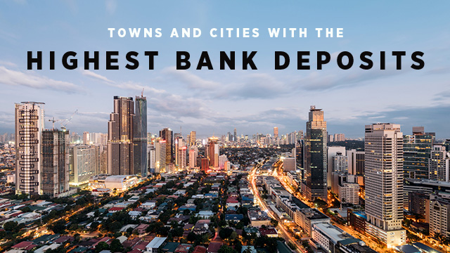 Which PH Cities and Towns Have the Most and Least Bank Deposits?