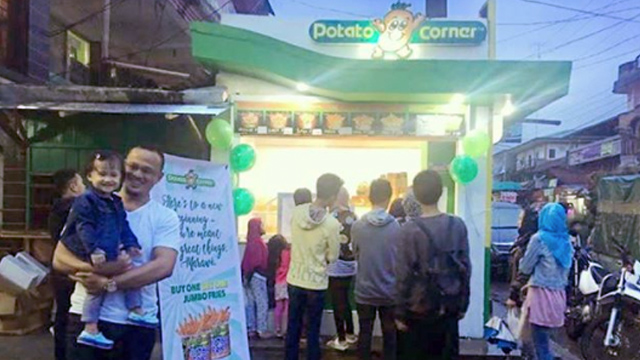 Potato Corner Reopens Branch in Marawi