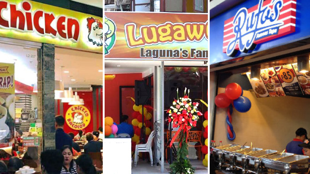 Franchise Talk 5 Filipino Food Franchises To Watch Out For