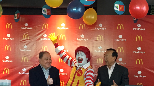 Can PLDT Tempt Consumers to Sign Up for its PayMaya Mobile Wallet With McDonald's Burgers and Fries?