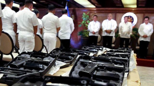 When Duterte Promised New Caliber 45 Pistols For The Military This