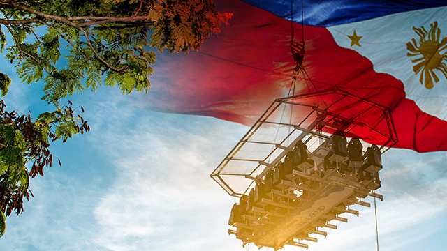 Are You Brave Enough to Dine on an Open Platform Suspended 150 Feet Above Manila Bay?